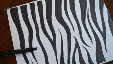 Photo of چگونه خطوط بدن گورخر را طراحی کنیم؟