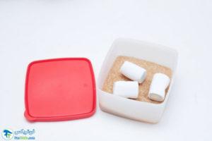 2 جلوگیری از سفت شدن شکر قهوه ای