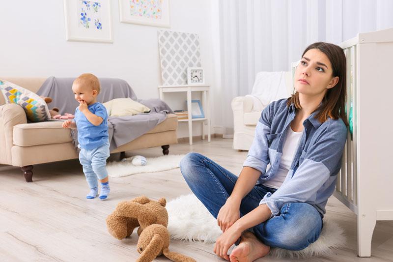 2 مقابله با حس زده شدن از مادری