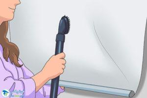 2 تمیز کردن پرده شید رول