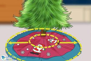 2 راهنمای خرید دامن درخت کریسمس