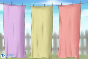 3 اصول رنگ کردن پرده