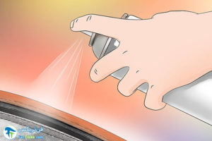 3 از بین بردن رسوبات نمک روی زیپ