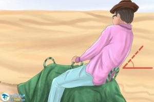4 آموزش شتر سواری