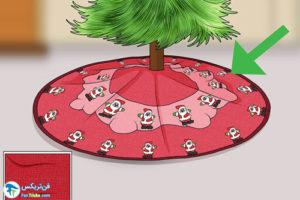4 راهنمای خرید دامن درخت کریسمس