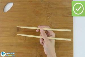 4 اصول خوردن برنج با چاپستیک