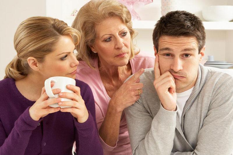 5 زندگی با مادر شوهر در یک خانه