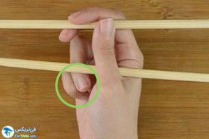 6 اصول غذاخوردن باچاپستیک