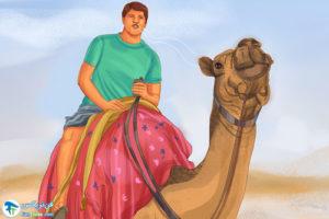 7 آموزش شترسواری