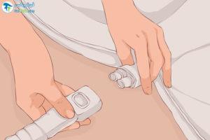 1 شستشو و مراقبت از پتوی برقی