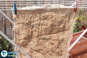 1 طرز شستن پارچه کرباس کنفی