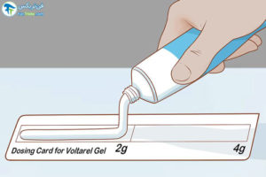 1 طرز استفاده از ژل ولتارن