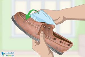 1 اصول پاک کردن واکس از روی کفش