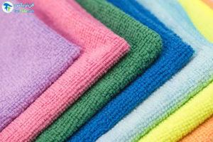 1 شستن و ضدعفونی کردن دستمال میکروفایبر