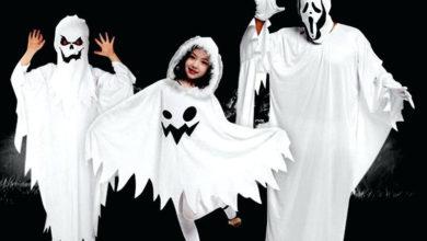 Photo of نحوه تبدیل ملحفه به لباس روح برای بازی کودکان
