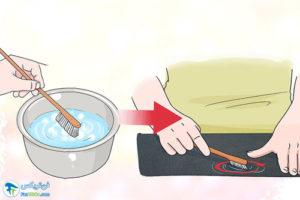 2 پاک کردن لکه رنگ از روی چرم