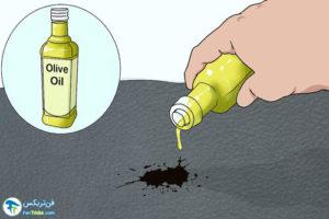 3 پاک کردن لکه رنگ از روی چرم
