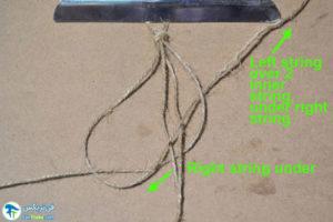 4 طرز ساخت گردنبند کنفی