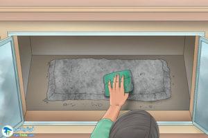 4 اصول تمیز کردن شیشه شومینه