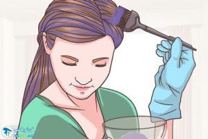 5 اصول نیلی کردن موها