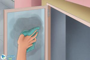 5 اصول تمیزکردن شیشهها