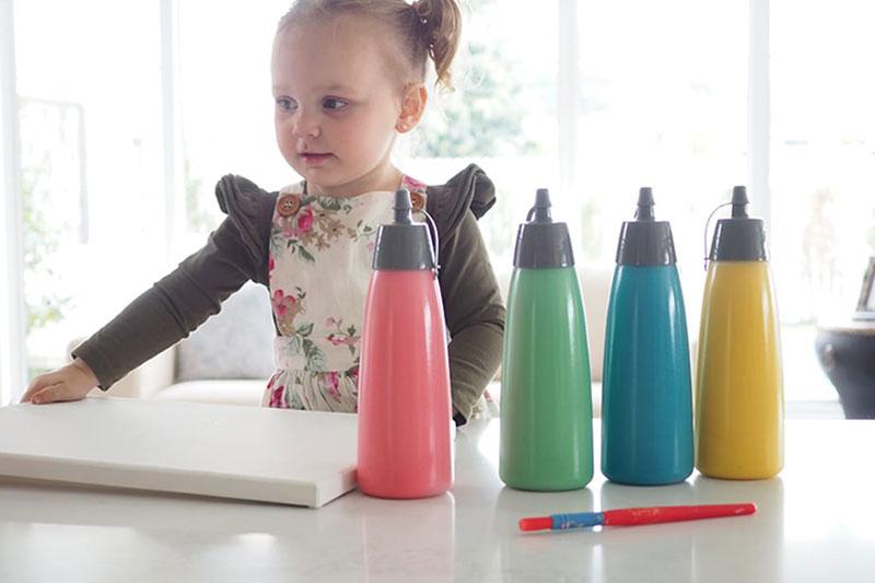 7 ساخت رنگ طبیعی برای نقاشی کودکان
