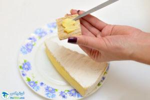 3 نحوه استفاده از پنیر کاممبرت