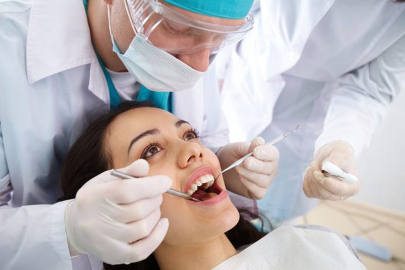 6 تعویض پرشدگی دندان