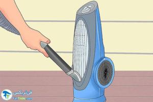 1 اصول تمیز کردن بخاری فن دار