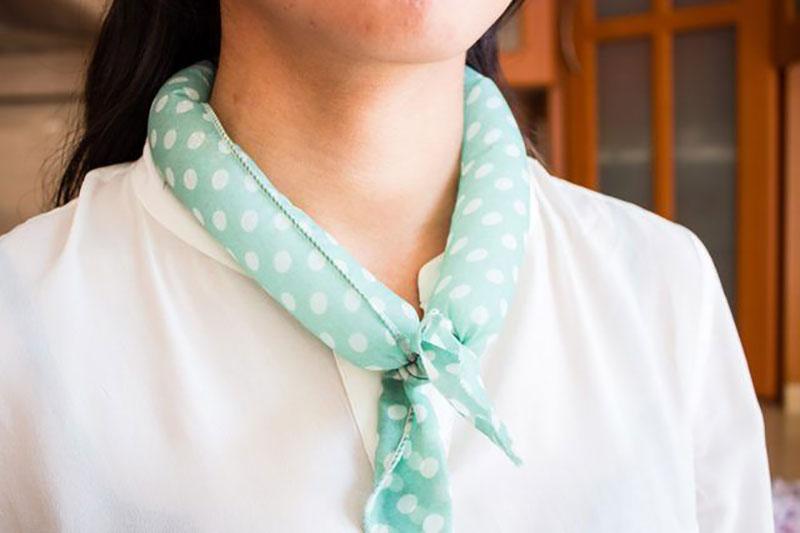 10 نحوه ساخت دستمال گردن خنک کننده