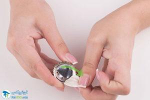 11 درست کردن گوشوارهها دربنوشابه