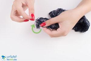 2 نحوه ساخت دستمال گردن خنک کننده