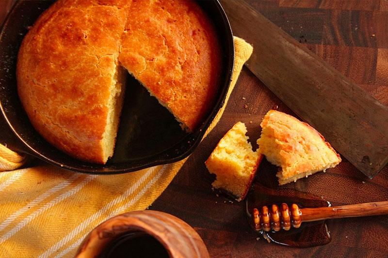 4 جلوگیری از خرد شدن نان ذرت