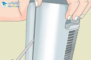 4 اصول تمیز کردن بخاری فن دار