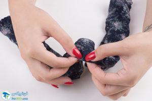 4 نحوه ساخت دستمال گردن خنک کننده