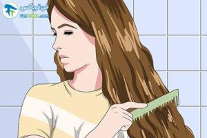 4 پاک کردن تونر از موها