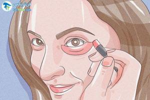 4 وانمود به مریضی با آرایش