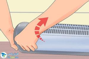 5 اصول تمیز کردن بخاری فن دار