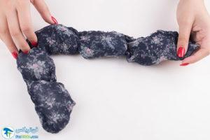 7 نحوه ساخت دستمال گردن خنک کننده