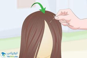 1 کوتاه کردن موهای کلاه گیس
