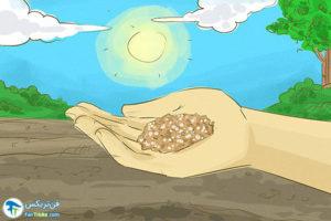 3 افزودن کلسیم به خاک