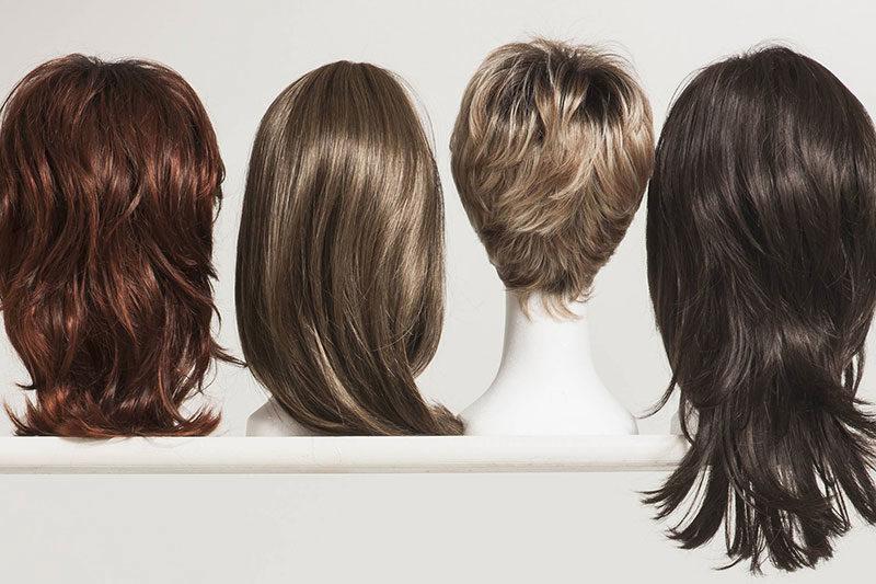 6 کوتاه کردن موهای کلاه گیس